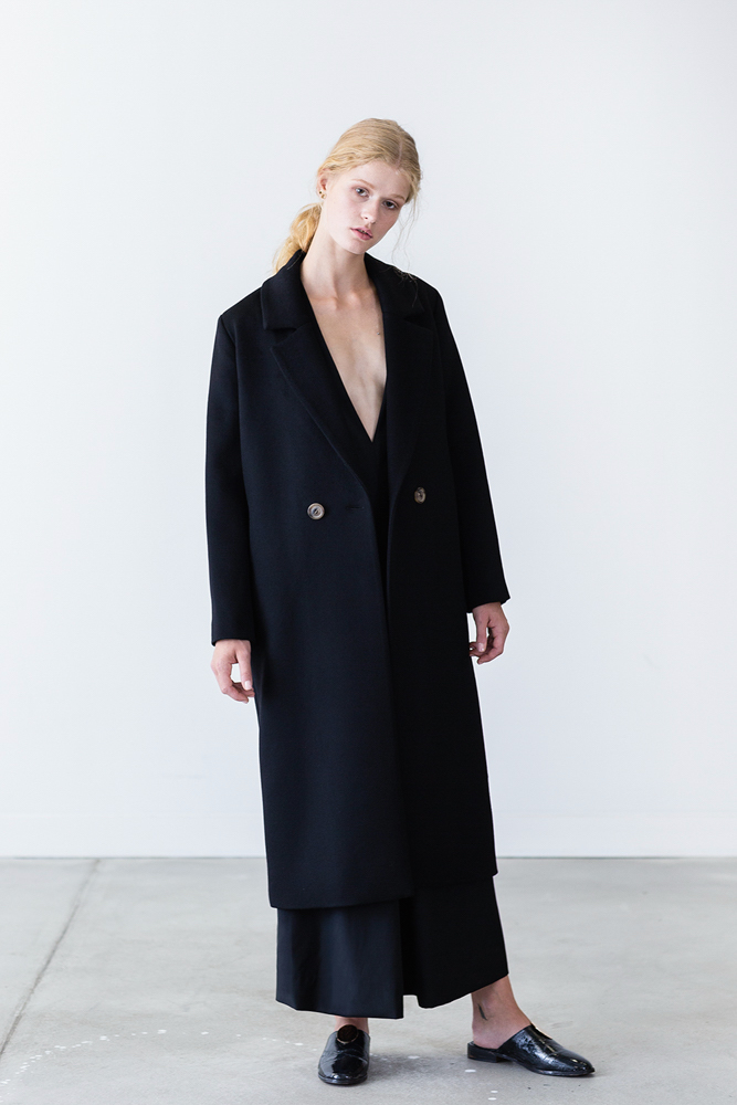 Ray Cashmere Coat