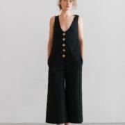 coltraneSS17-Artemis-Organic-Linen-Jumpsuit-Black