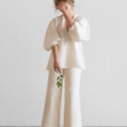 coltraneSS17-Iris-Organic-Linen-Blouse-Front