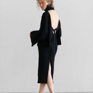 coltraneSS17-Malea-Organic-Cotton-Sweater-Black-Back